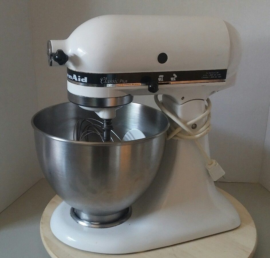 Kitchen Aid Classic Plus Organizer Ideas Kitchenaid Ksm75wh 4 5 Qt Tilt Head White Stand Mixer