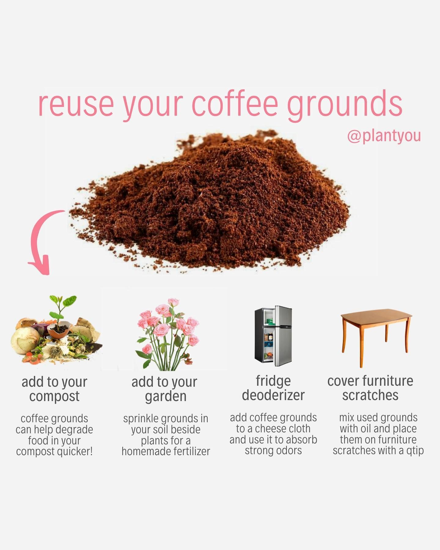 13+ What can you do with used coffee grounds ideas in 2021