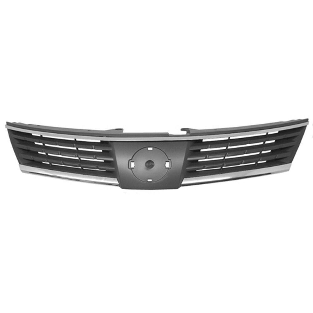 New Grille Chrome Front For Nissan Versa 2007 2009 Ni1200224 Hatchback Sedan Keystoneautomotiveoperations Nissan Versa Nissan Hatchback