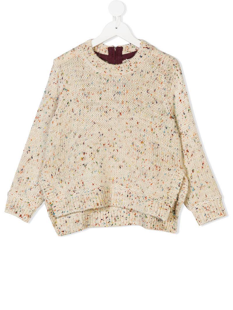 Stella McCartney Kids Speckled Chunky Knit Jumper - Farfetch