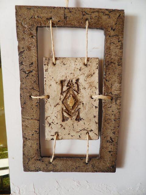 Mis artesanias cuadro rustico pasta piedra pinterest - Cuadros para dormitorios rusticos ...