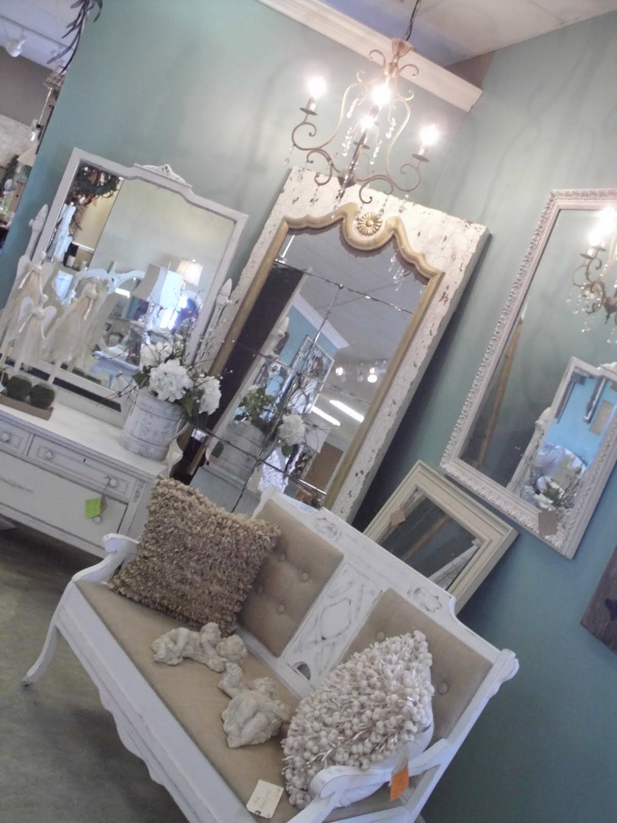 Shabby Chic, Burlap and White Bench this would look awesome for a