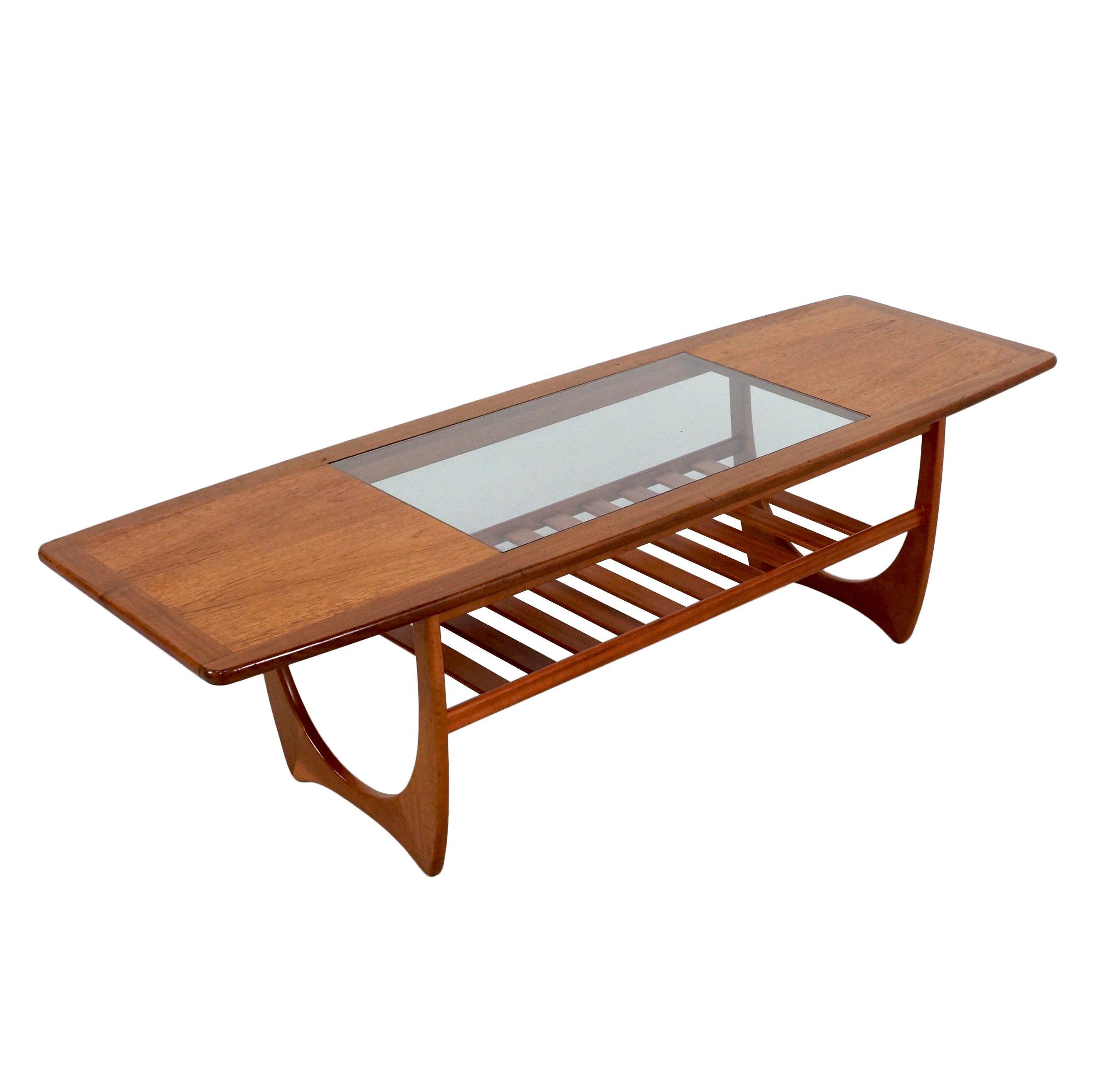 Pg plan long john fresco coffee table in teak slatted shelf pg plan long john fresco coffee table in teak slatted shelf underneath geotapseo Choice Image
