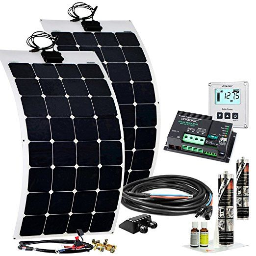 offgridtec wohnmobil solaranlage 200 w flexibel solarkit. Black Bedroom Furniture Sets. Home Design Ideas