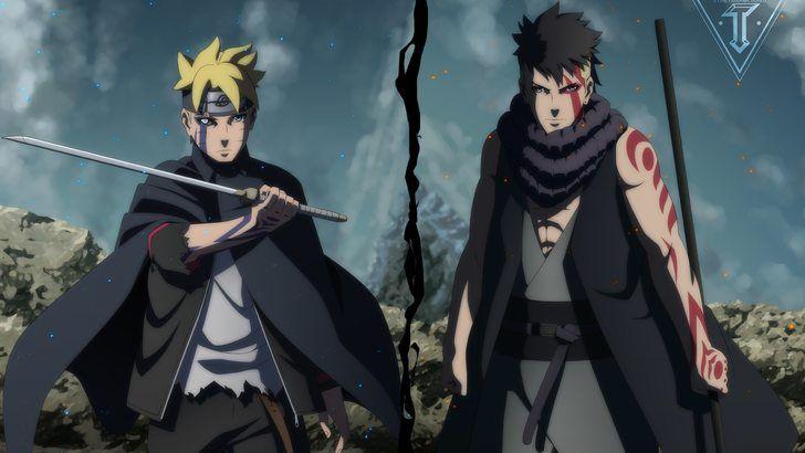 Boruto And Kawaki Boruto Anime Wallpaper Animasi Gambar Naruto