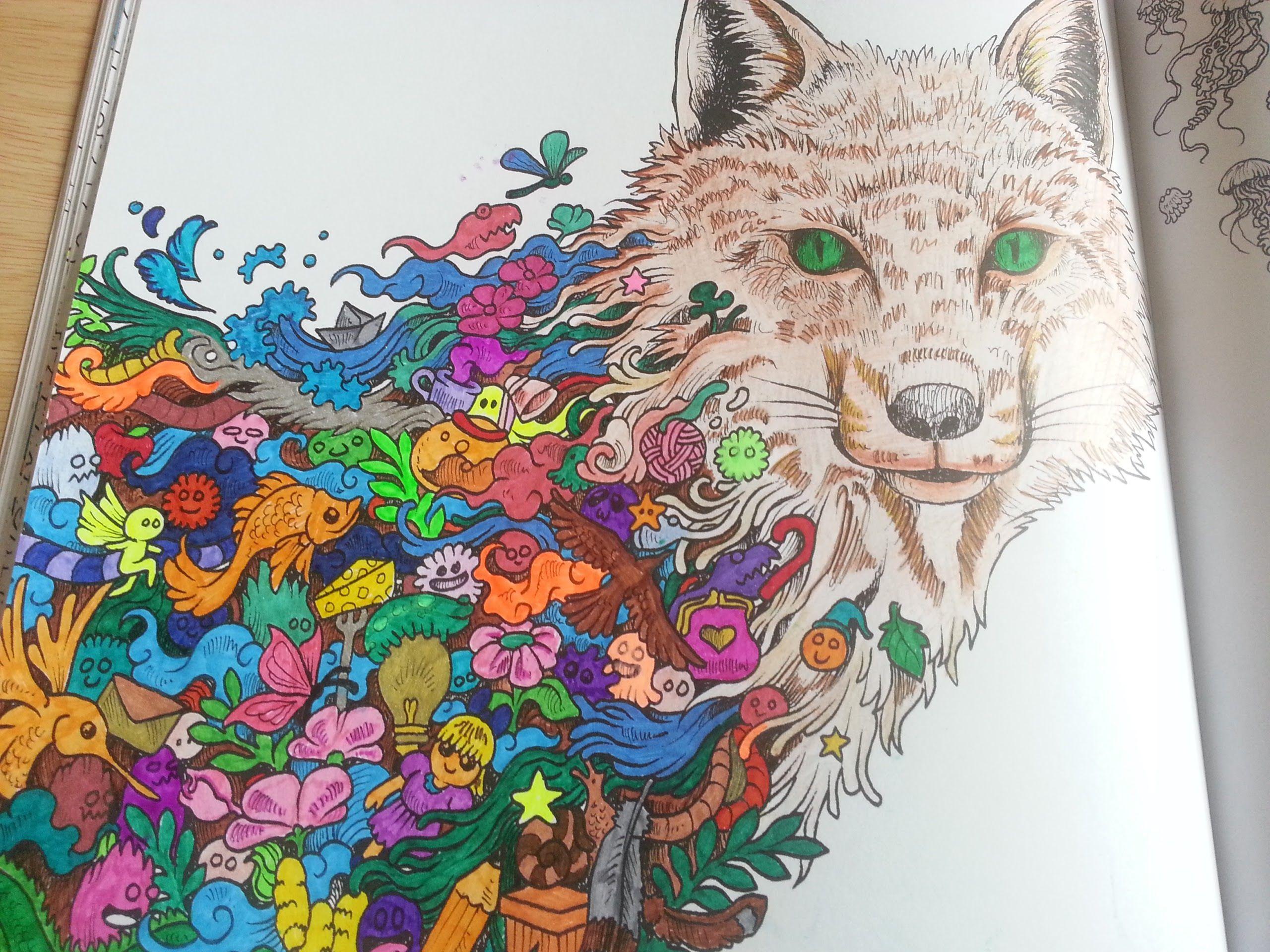 Animorphia Colouring Book