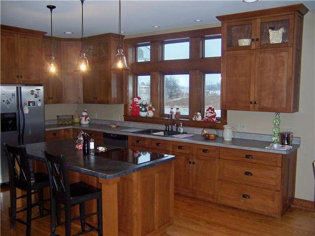Quarter Sawn Oak Cabinets Kitchen | Quartersawn white oak cabinets ...