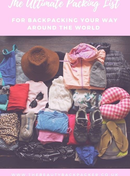 The Ultimate Packing List for Backpacking Your Way Around the World : the ultimate packing list for backpacking your way around the world #Ultimate #Packing #List #ultimatepackinglist