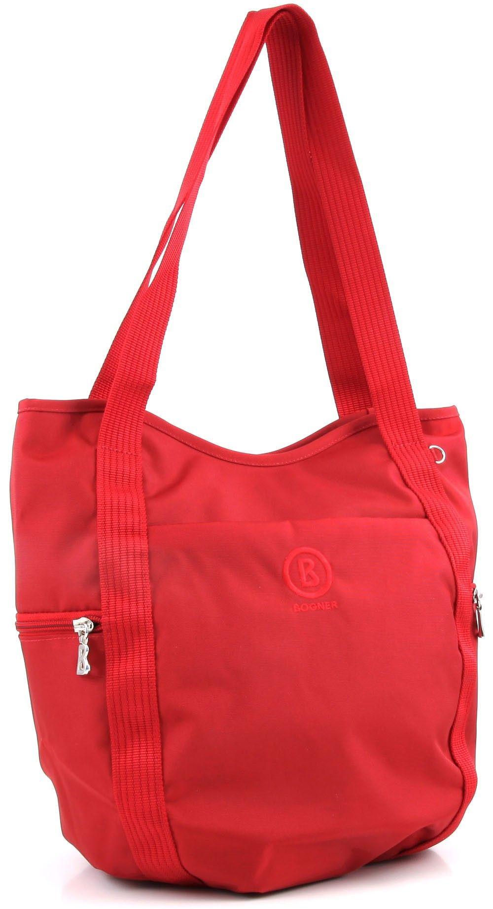 Wardow Com Tasche Von Bogner Spirit Basket Rot Taschen Aus Dem