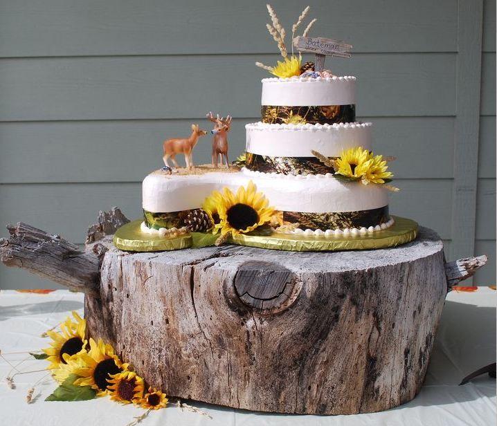 Camo Wedding Decoration Ideas: Camo Wedding Cakes