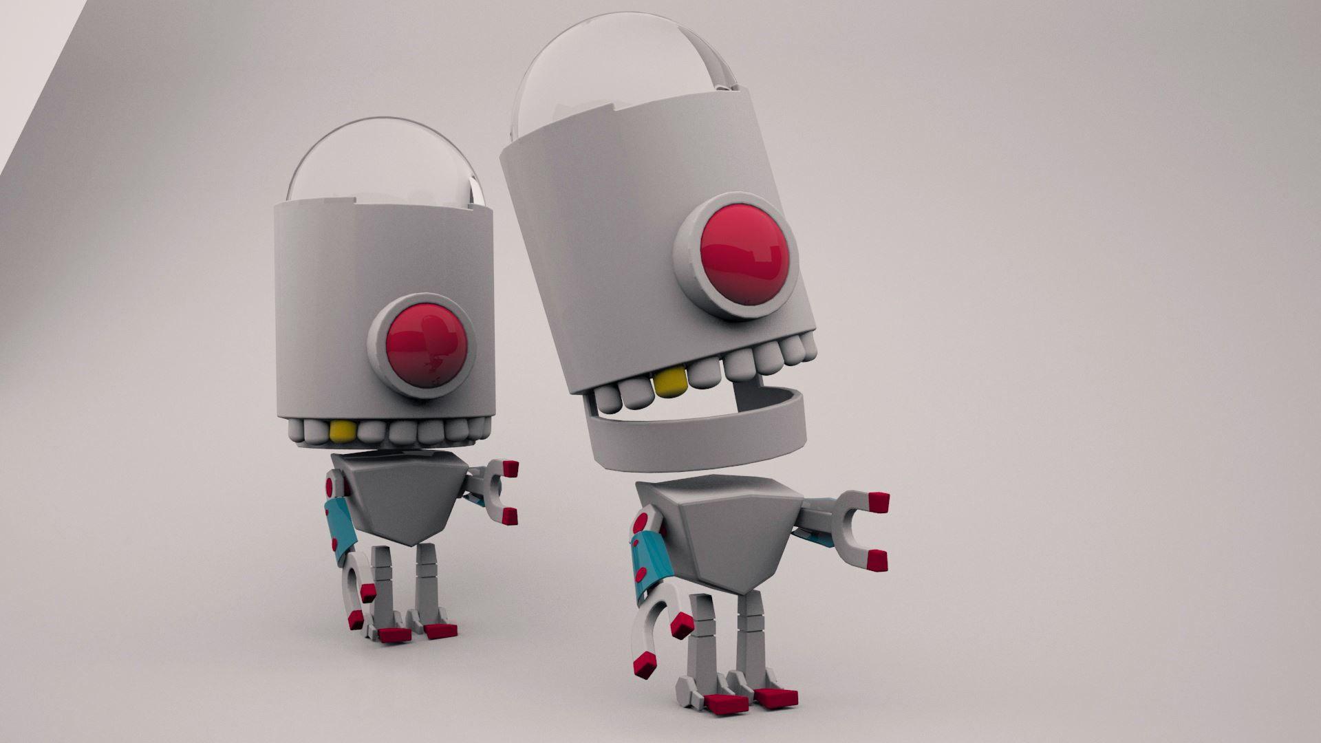 robot videojuego