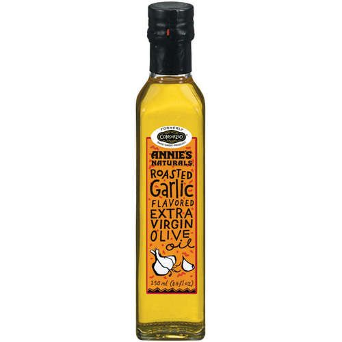Annie's Naturals—Flavored Olive Oil. #illustrated #label #hand_drawn_type