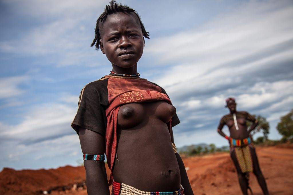 tribe girl African