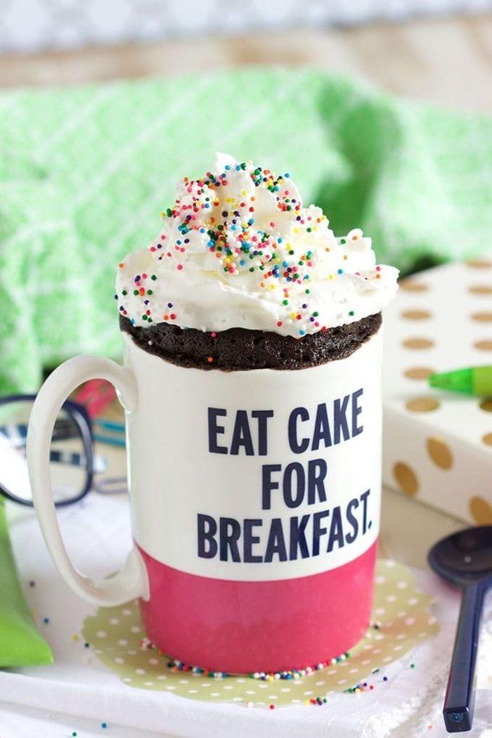1001+ idées pour une recette de mug cake facile et rapide ...
