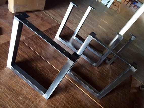 Admirable Brushed Square Metal Legs Bench Legs Steel Legs Dining Legs Andrewgaddart Wooden Chair Designs For Living Room Andrewgaddartcom