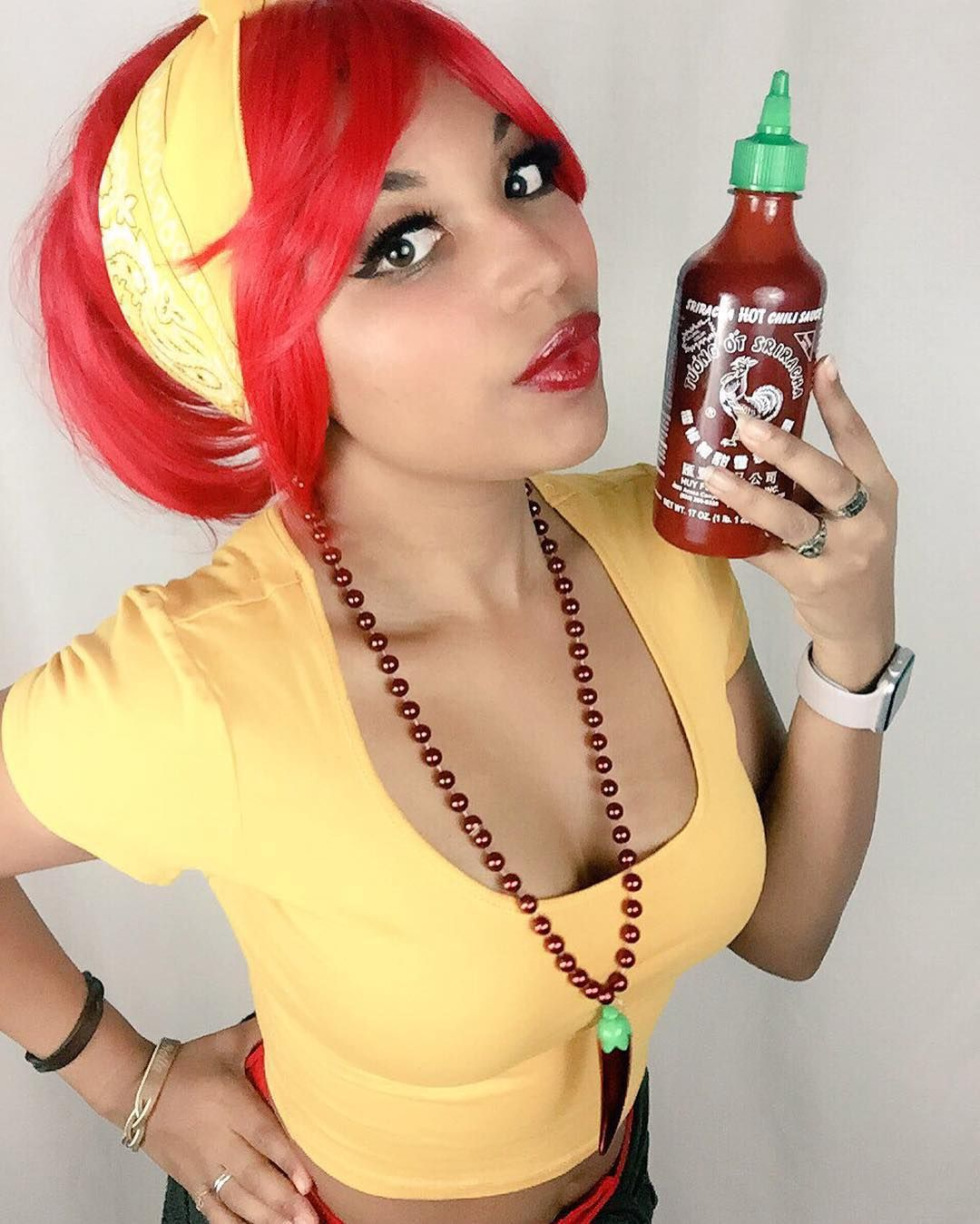 "Smol ""Hot Pepper Chan"" costest for #HotPepperGaming and @vernonshaw!! Original…"