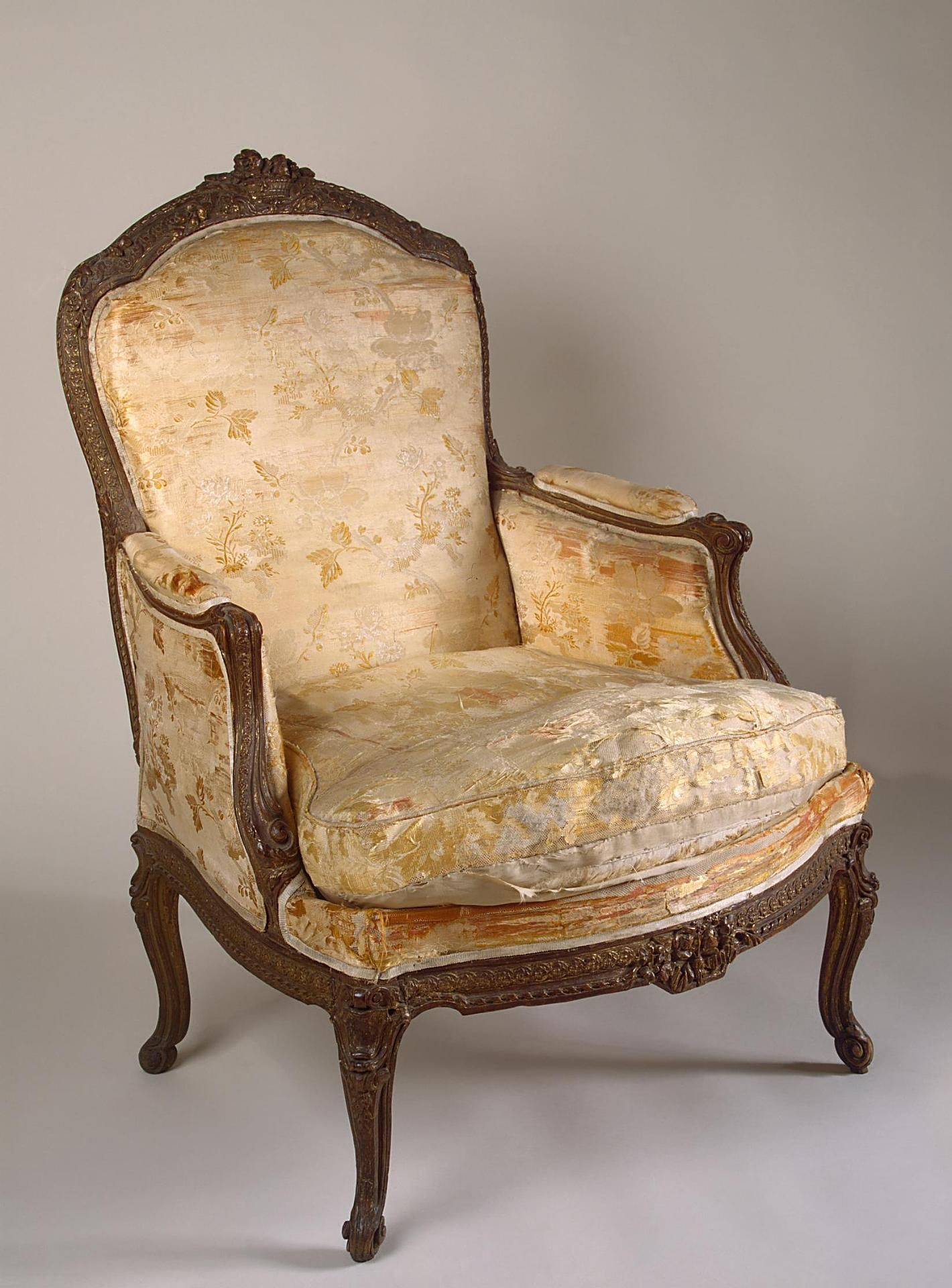 Bergere chair french rococo - French Furniture