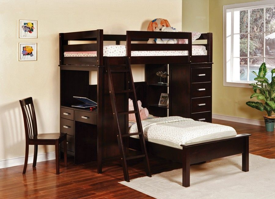 Practical Twin Bunk Beds For Two Kids In A Small Room Exotic Twin
