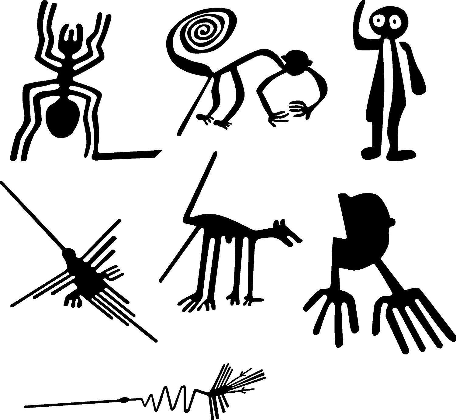Pictures from the Nazca lines...... | Aliens or what? | Pinterest ...