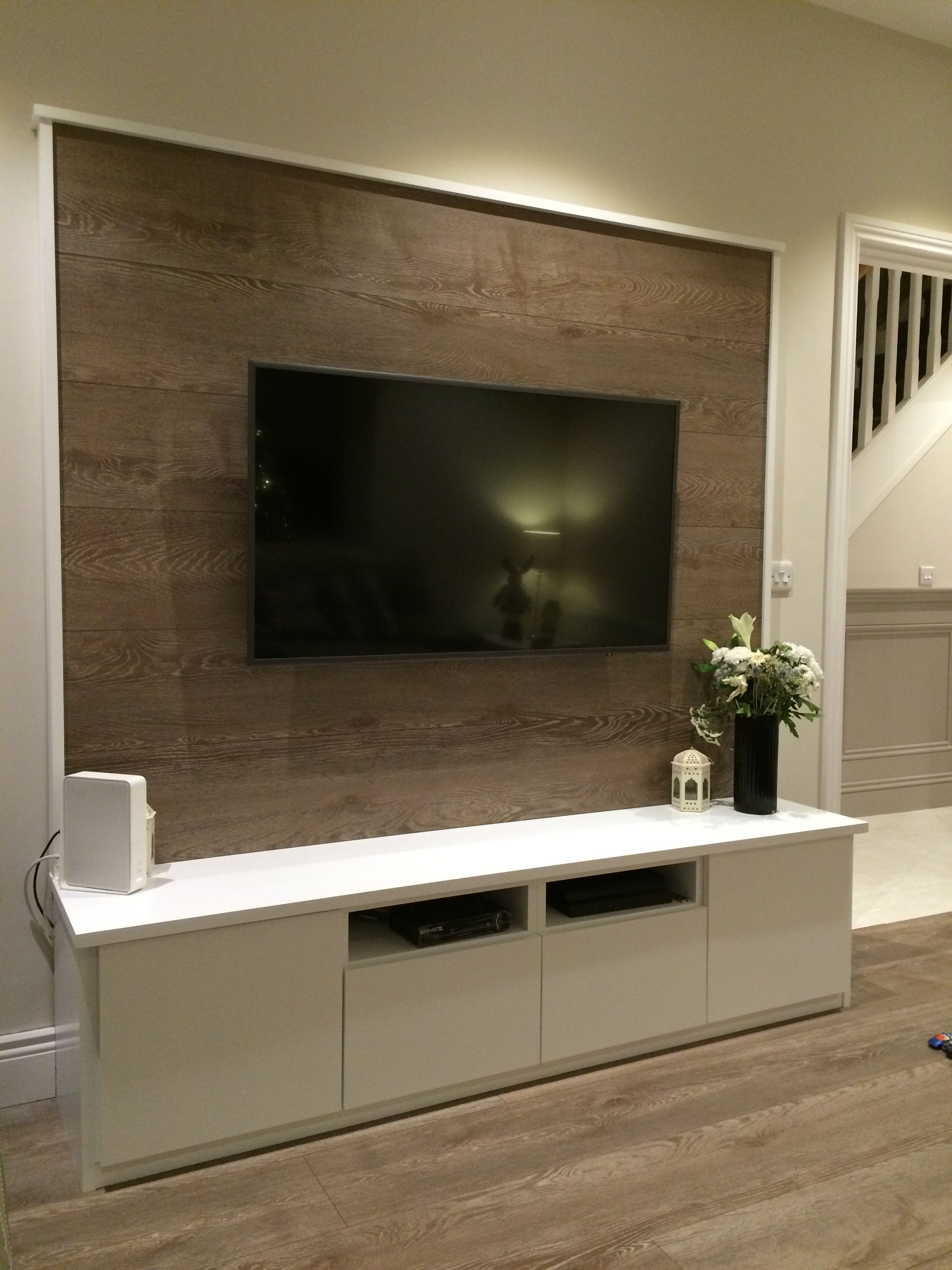 Sitting room TV unit made by Alan