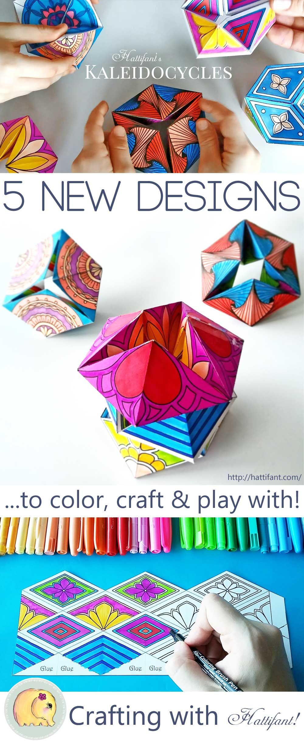 Hattifants new series of kaleidocycles flextangles a mechanical hattifants new series of kaleidocycles flextangles a mechanical papertoy to color and craft free download jeuxipadfo Choice Image