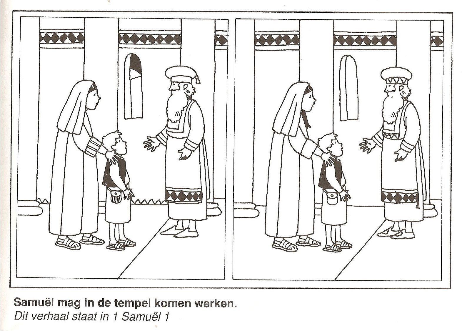 Samuel Mag In De Tempel Komen Werken Zoek De 10