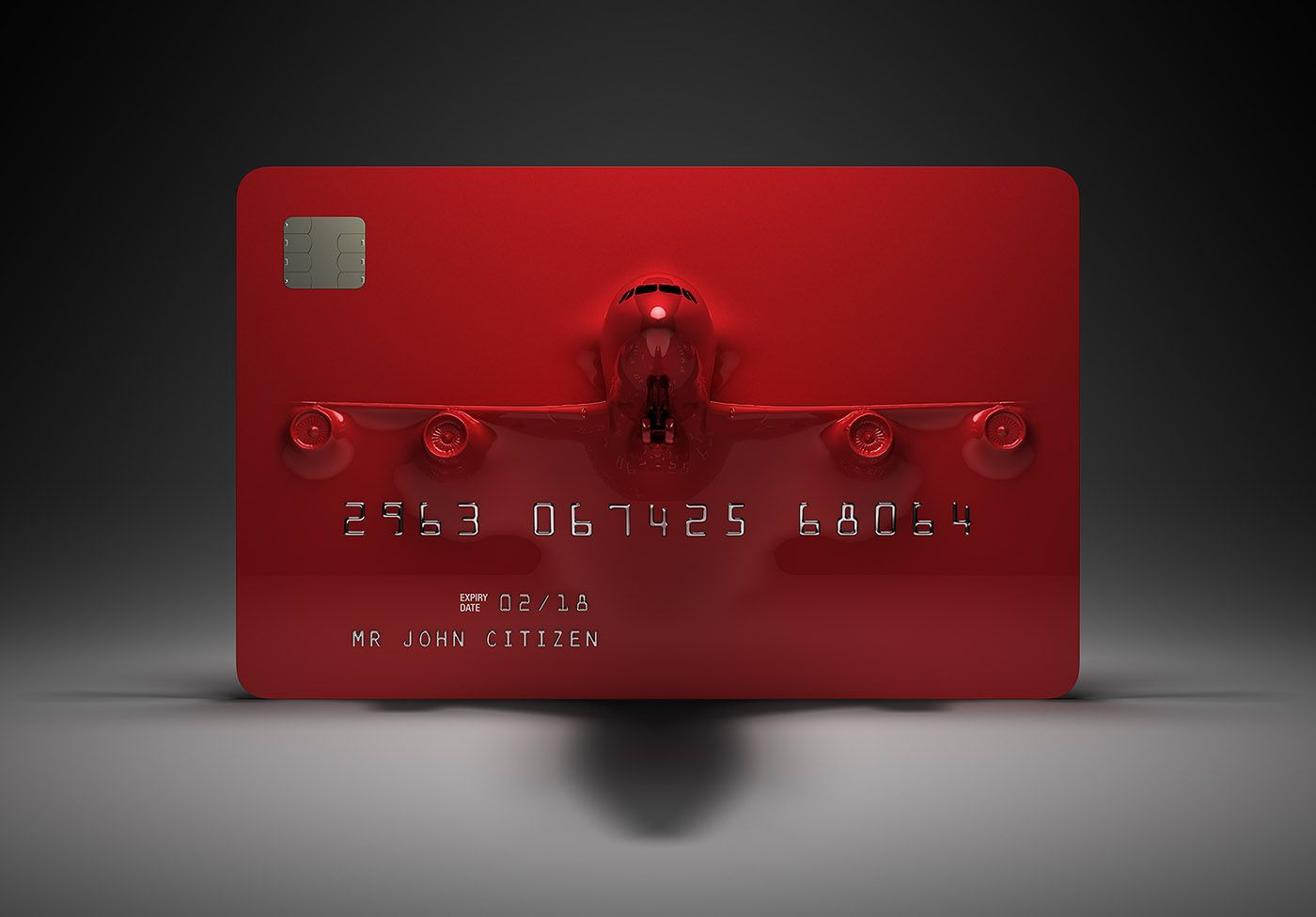 a flight in every card on behance  credit card design