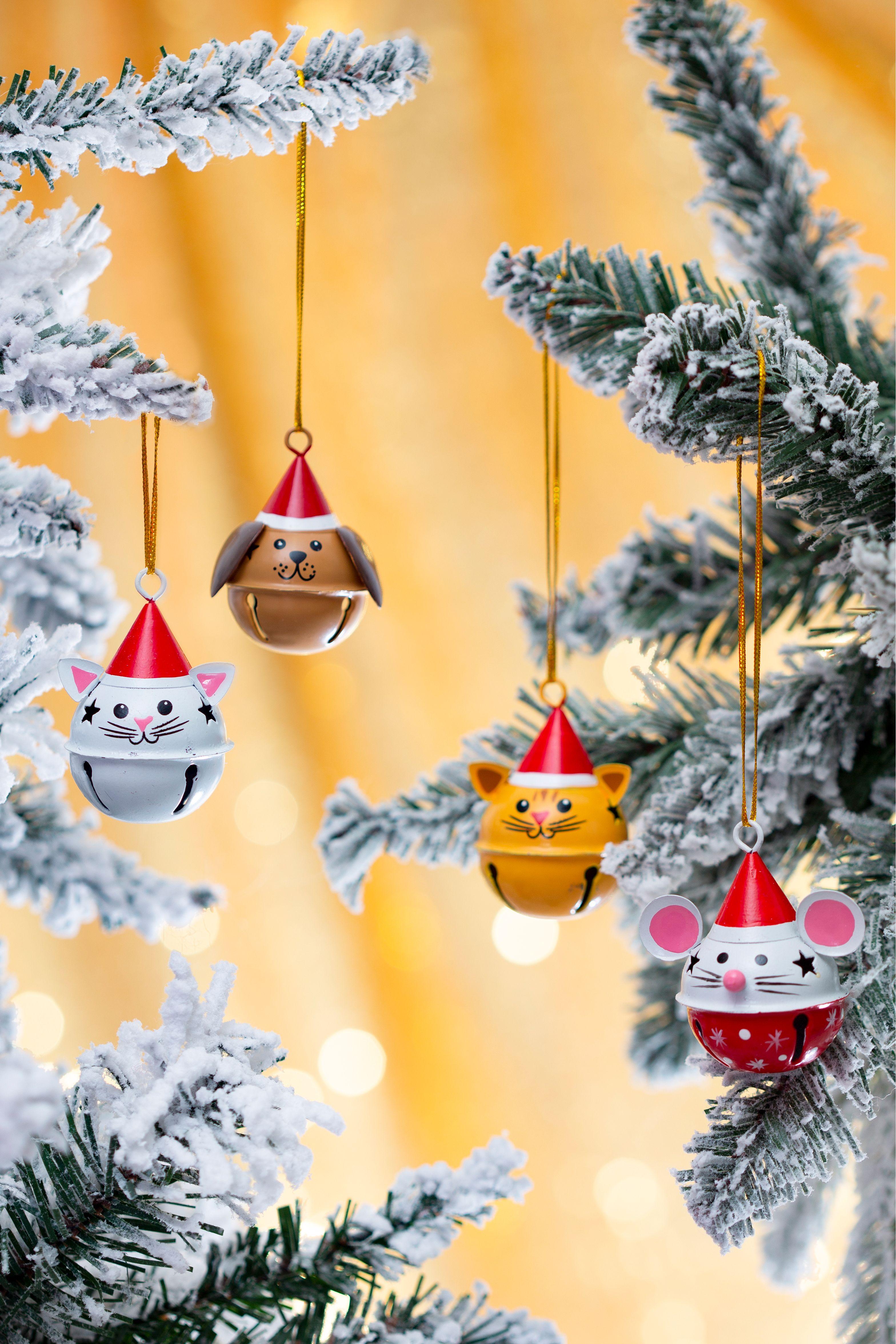 Sass & Belle jingle bell baubles Christmas, Christmas