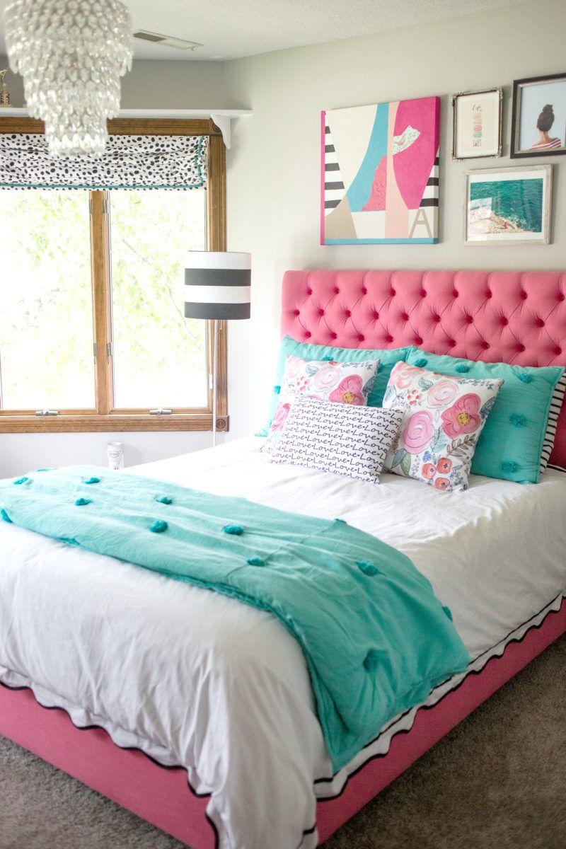 a teen bedroom makeover - Carpet Teen Room Decor