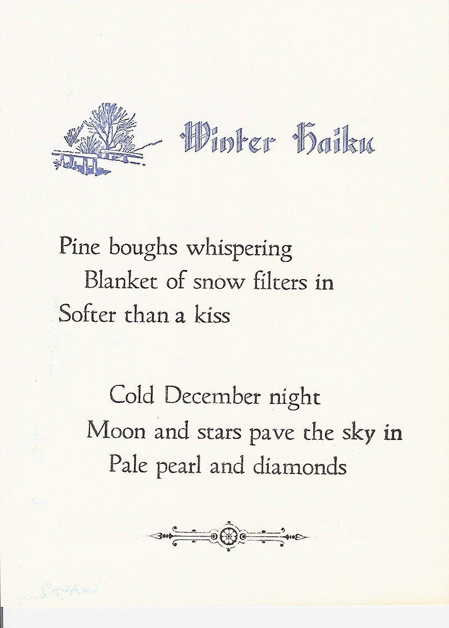 Example Of Haiku Poem About Nature : example, haiku, about, nature, WINTER, BLUES, Winter, Poems,, Haiku, Poetry