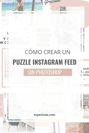 Plantilla Rompecabezas En Instagram Sin Photoshop Consejos Para Instagram Temas Para Instagram Anuncios Instagram