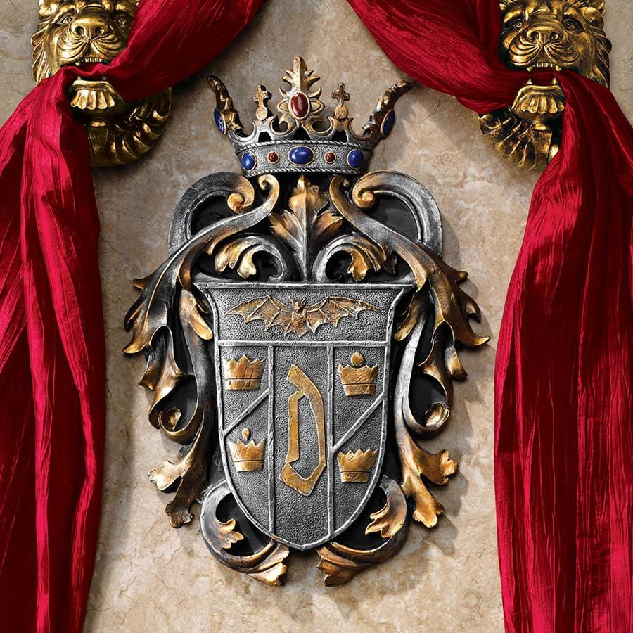Count Dracula S Coat Of Arms Coat Of Arms Vampire Decor Vlad The Impaler