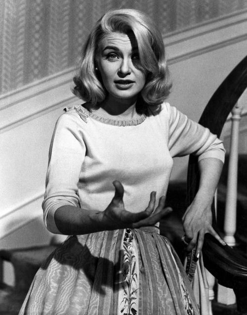 "Joanne Woodward, ""From the Terrace"" 1960. Her silvery hair ..."