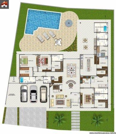 Modern house plan design free download also designs blueprints rh pinterest
