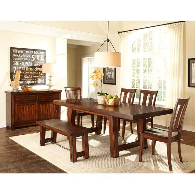 25++ Wood dining room set with bench Best
