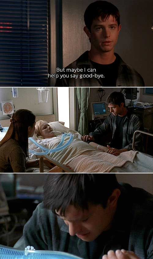 Dang it, Max was such a sweetheart! :) | Roswell | TV Show