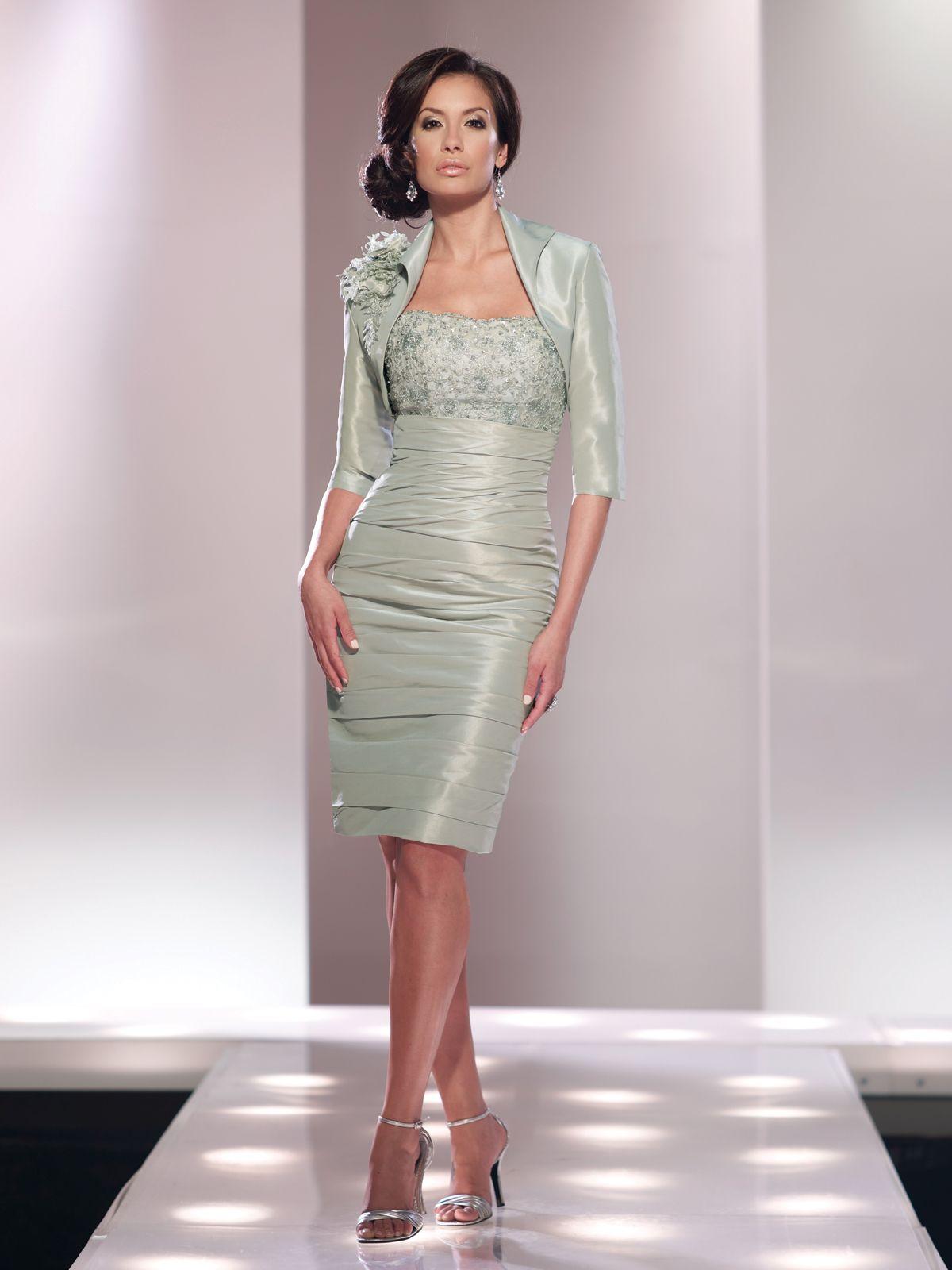 mother of the bride bolero jacket dress