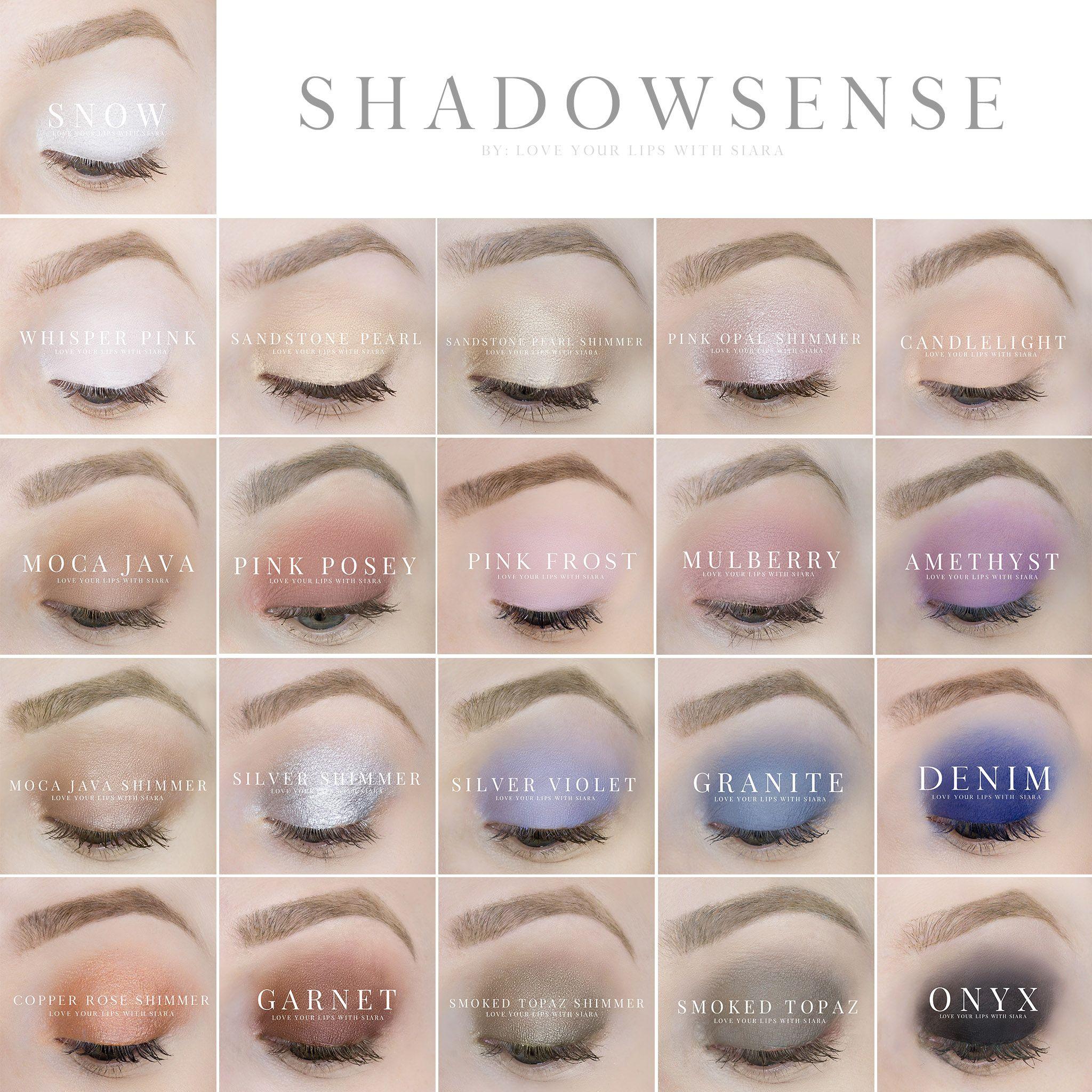 ShadowSense Colors by SeneGence message me via my Facebook ...