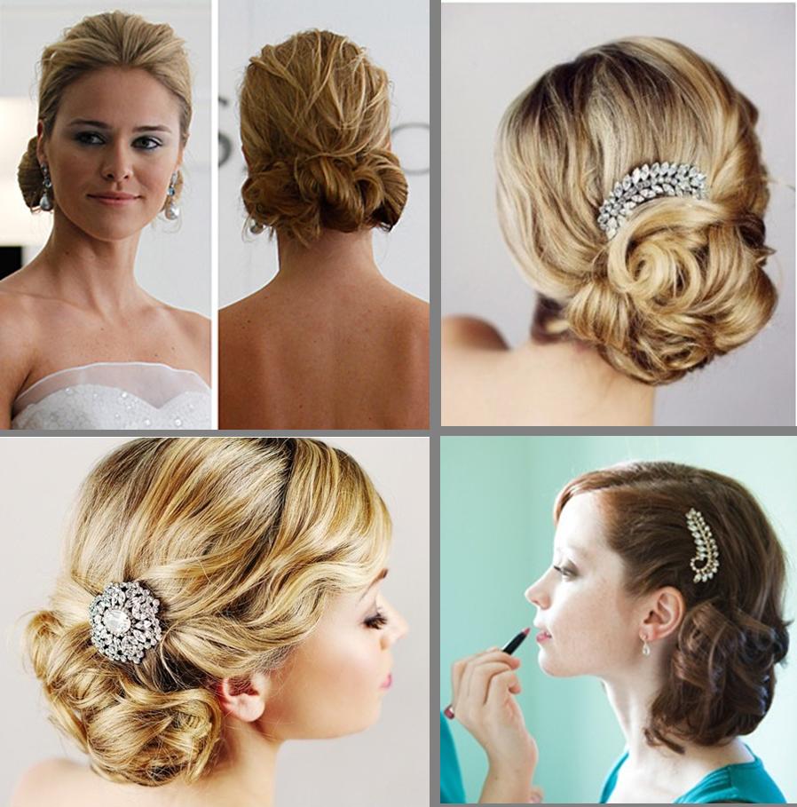 Peinados de novias reales