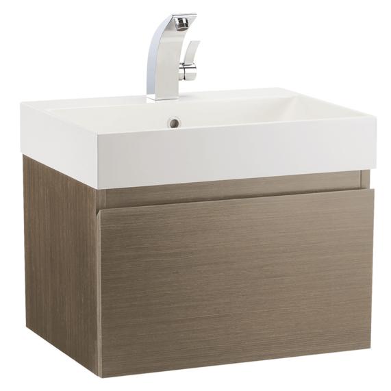 Mino 600 Vanity Unit   Nebraska Oak | Bathstore