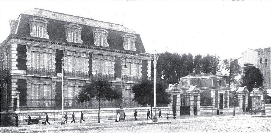 1915 Calle De Alcalá Palacio De Casa Riera Palacios Arquitectura De España Foto Madrid