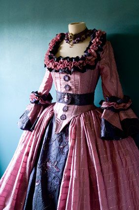 """""""Mademoiselle Macaron"""" gown  Candy-coloured rococo fantasy dress."""