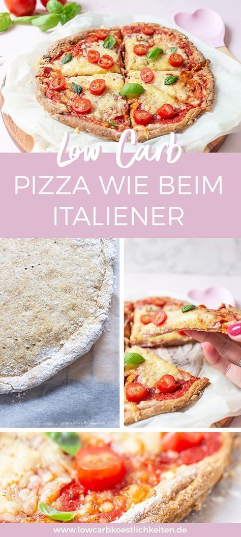 pizza wie beim italiener mit hefe und knusprigem rand rezept low carb glutenfrei rezepte. Black Bedroom Furniture Sets. Home Design Ideas