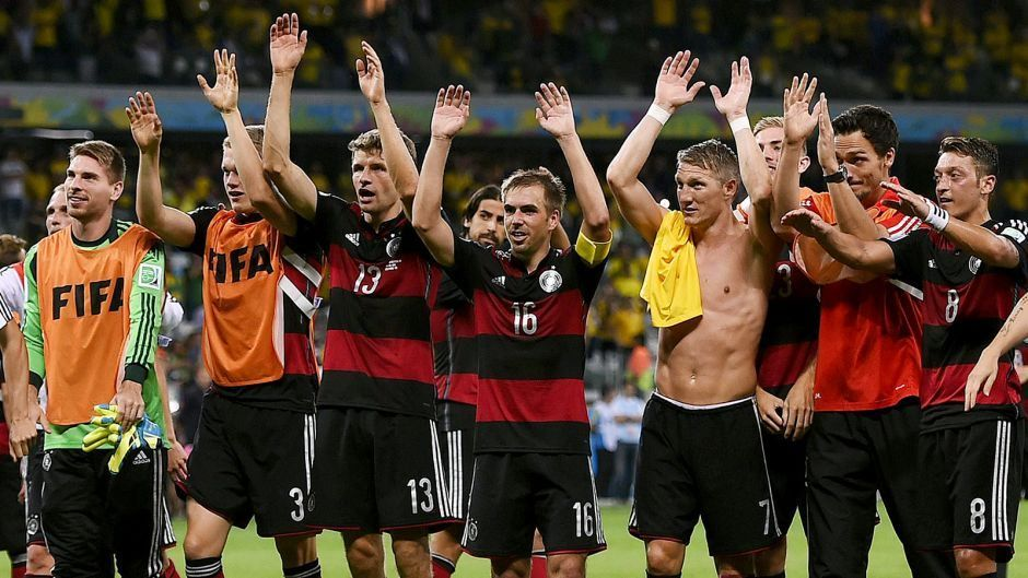 Germany embarrass sorry Brazil, advance to World Cup final