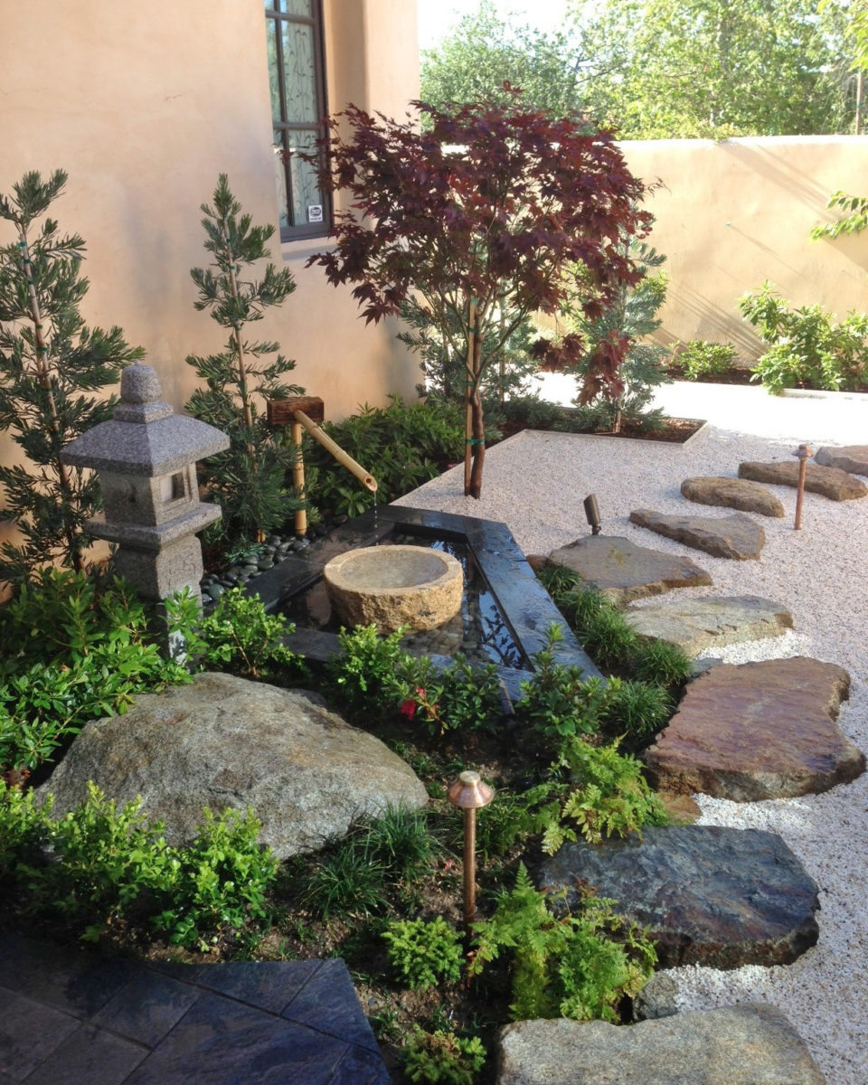 How To Make A Japanese Zen Garden In Southern California With