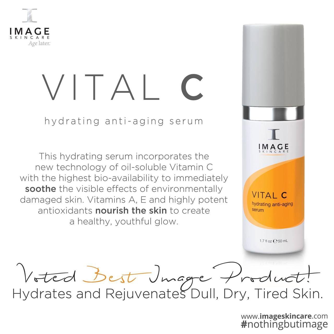 Productfeature Image Skincare Vital C Hydrating Anti Aging Serum This Hydrating Serum Incorporates The New Techn Image Skincare Anti Aging Serum Skin Care