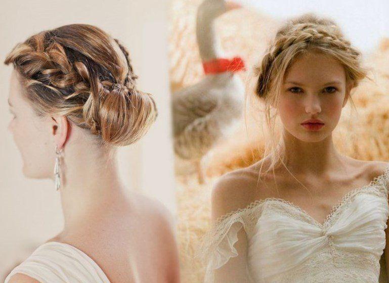 Model de coiffure pour femme pour mariage