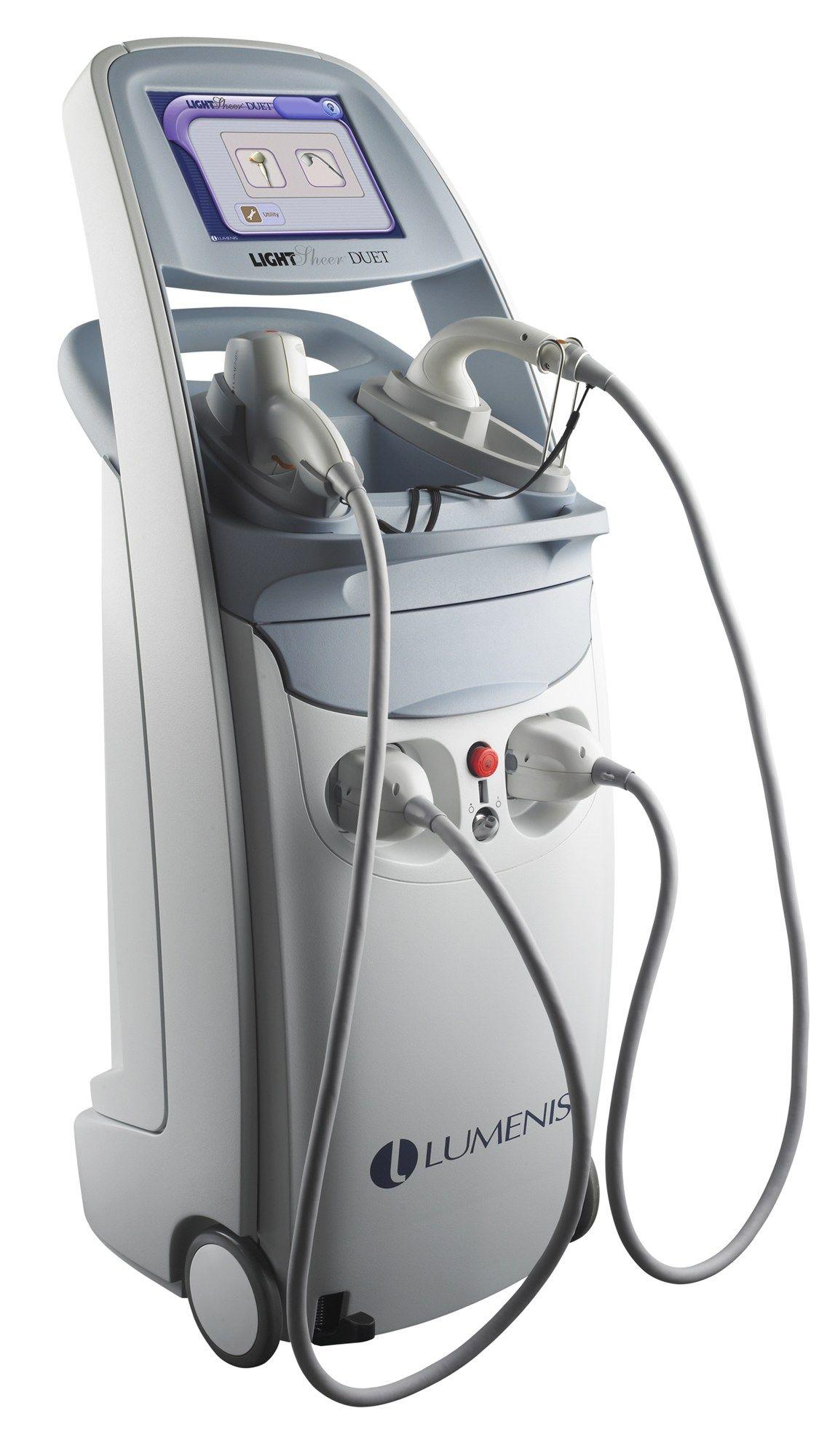 Lumenis LightSheer Duet Laser hair reduction, Hair