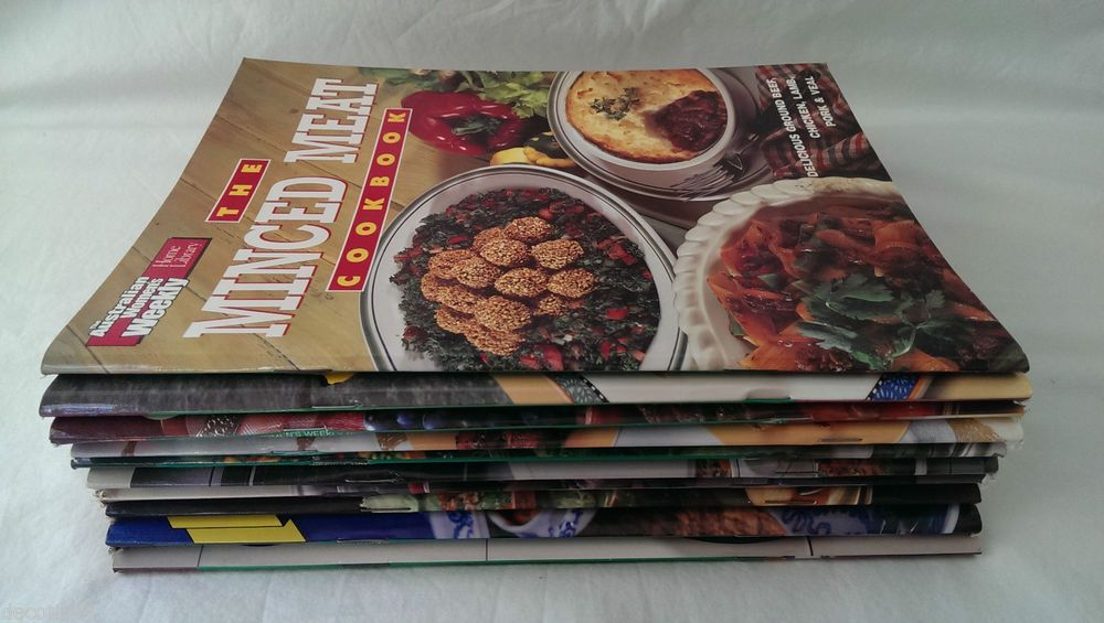 10 LOT OF THE AUSTRALIAN WOMENS WEEKLY COOKBOOKS MINCED MEAT MICROWAVE LOW-FAT