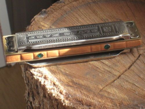 Custom Hohner Blues Harp Harmonica